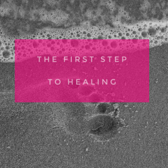 The first step to healing – Awareness