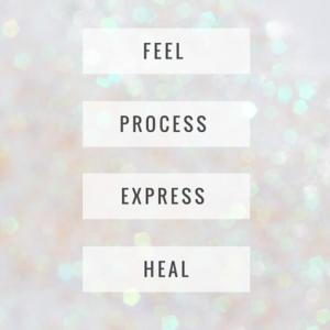 Feel process express heal