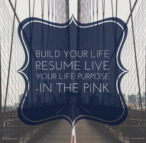 Build your life resume