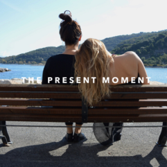 End anxiety & regret –  Live in the present moment.