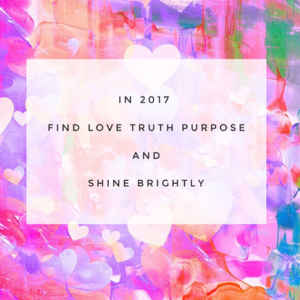 2017 Love truth and purpose