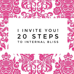 Internal bliss with 20 steps connecting your head and your heart.
