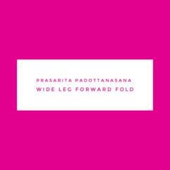Prasarita Padottanasana – Wide leg forward fold